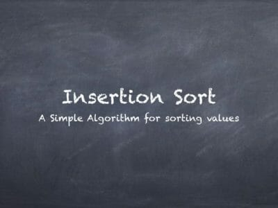 How to Implement Insertion Sort Algorithm in Swift and Java