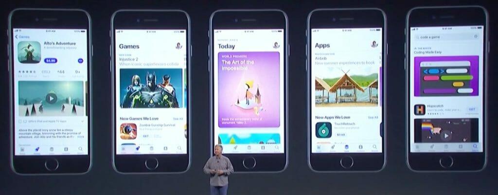 iOS 11 App Store Update
