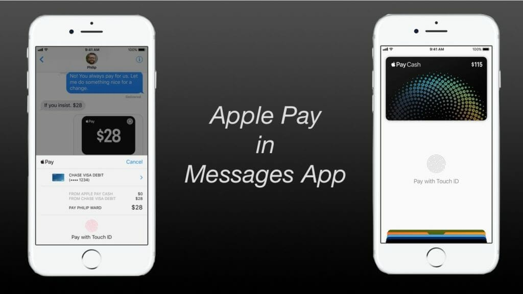 Apple Pay in Messages App