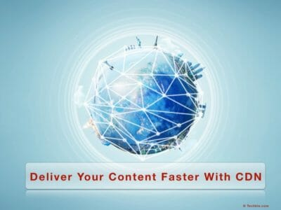 When And How To Enable CDN Support For Your Blog?