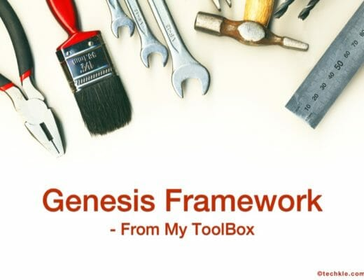 [Toolbox] Why Genesis Framework is my go to WordPress Framework