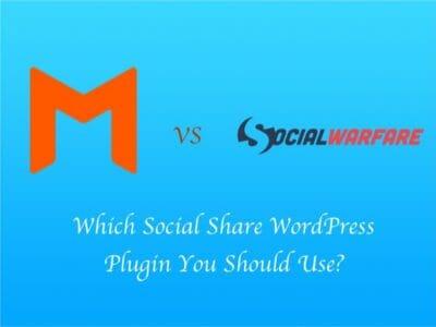 Social Warfare Vs Monarch – Which is Better Social Share Plugin?