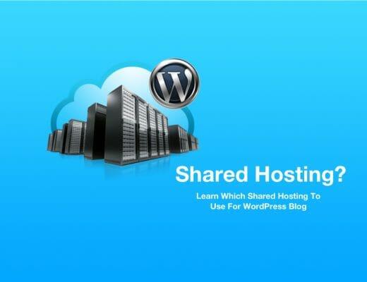 5 Best Shared Hosting Providers For Starting WordPress Blog