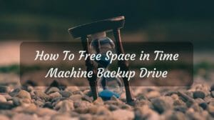 Free Space in Time Machine Backup Drive