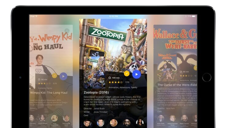 PlayerXtreme iPad Screen
