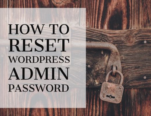 How To Reset WordPress Admin Password Using PHPMyAdmin