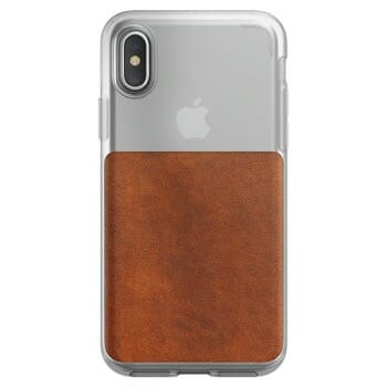 Nomad Clear Case For iPhone X