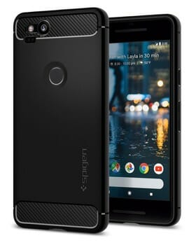 Spigen Rugged Armor Case Google Pixel 2