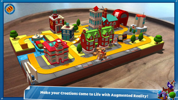 Thomas and Fiends Minis Augmented Reality Game