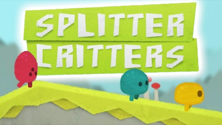 Splitters Critters in AR Mode for iPhone X