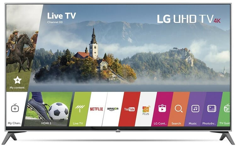 LG 55-Inch UJ7700 Smart 4K TV