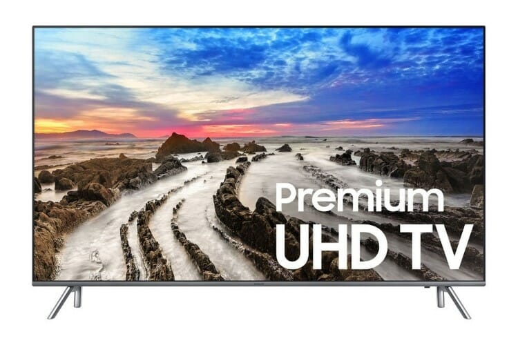 Samsung 40-Inch MU8000 Smart 4K TV