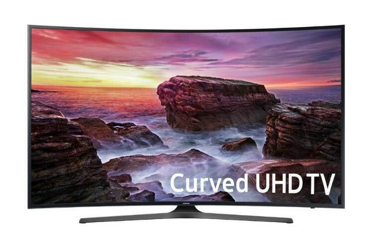 Samsung MU6500 55-Inch Curved Best 4K TV's Under $1000
