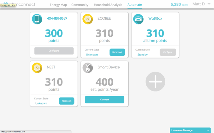 Smart Home Dashboard For Smart Devices