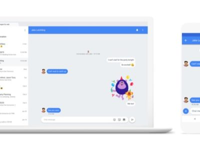 Google Latest Andoid App Chat Messanging Service