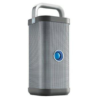 Brookstone Big Blue Party Outdoor Bluetooth Speaker