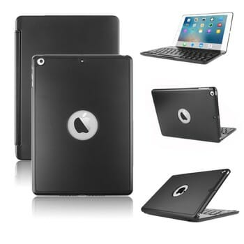 Kvago Slim Protective Keyboard Case for iPad 2018