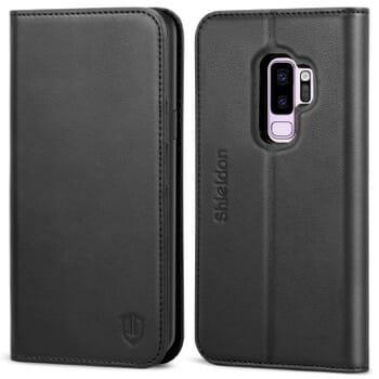 Shieldon Folio Case For Samsung Galaxy S9 Plus