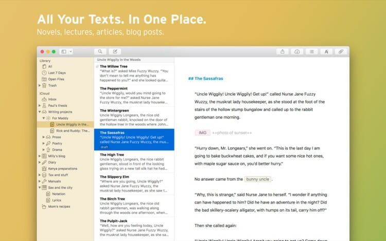 Ulysses Text Editor For MacBook