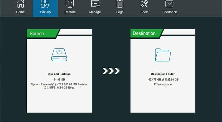 MiniTool ShadowMaker Backup Solution For Windows