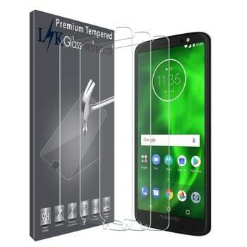 LK Tempered Glass Screen Protector For Motorola G6