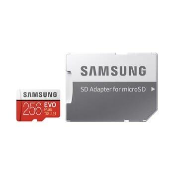 Samsung EVO+ 256GB MicroSD Card
