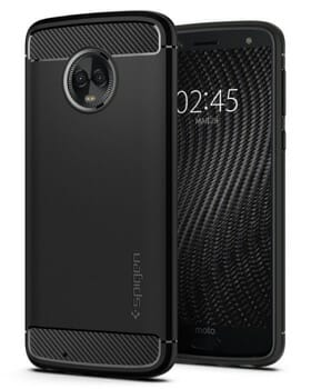 Spigen Rugged Armor Case For Motorola G6