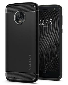 Spigen Rugged Armor Case For Motorola G6