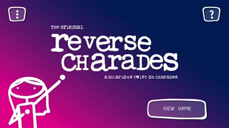 Reverse Charades iOS Game