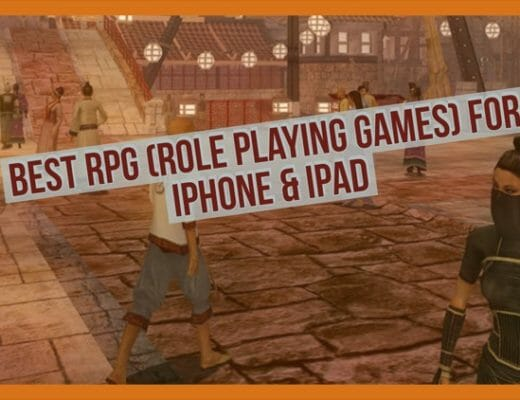 11 Best RPG (Role Playing Games) Games For iPhone And iPad