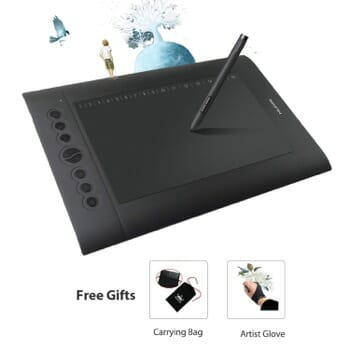Huion H610 Best Drawing Tablet