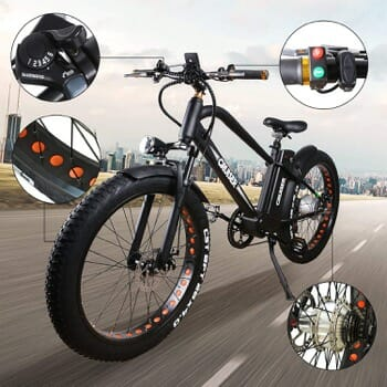 Nakto Electric Mountain Bicycle