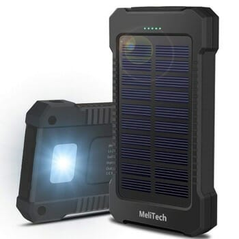 MeliTech Portable Solar Charger for iPhone XS
