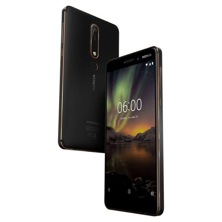 Nokia 6.1 Android Smartphone