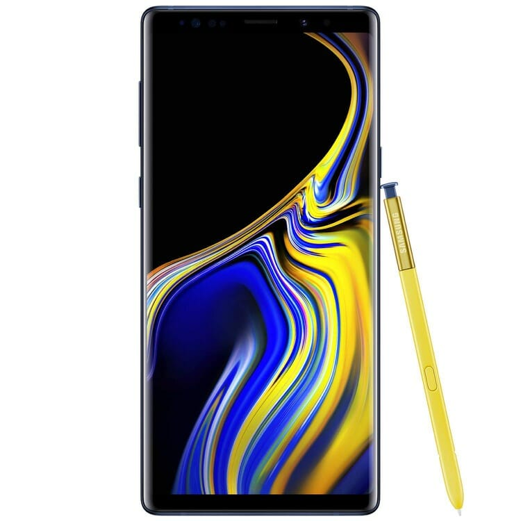 Samsung Galaxy Note 9 Android Smartphone