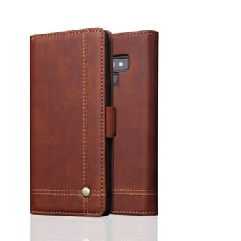 Samsung Galaxy Note 9 Leather Wallet Case