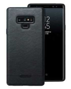 UCC Luxury PU Leather Case For Note 9