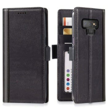 iPulse Journal Leather Wallet Case For Galaxy Note 9