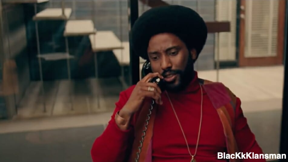 BlacKkKlansman Amazon Prime Video Screencaps