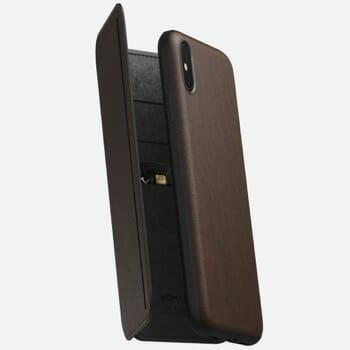 NOMAD Tri-Folio Case For iPhone XS Max