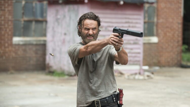 No Mercy From Rick in The Walking Dead