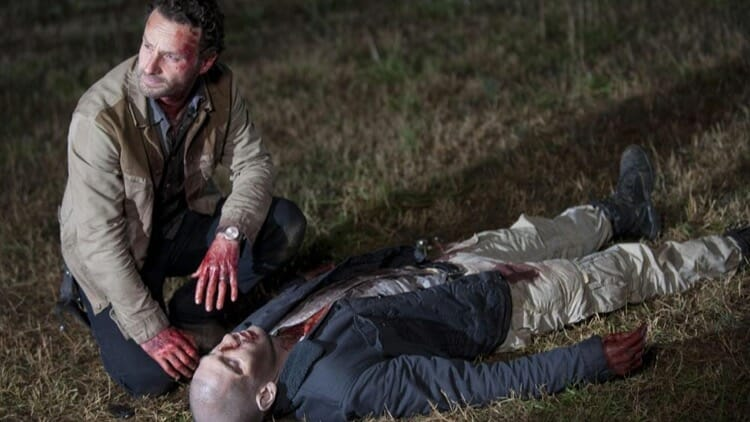 Rick Grimes Killing His Best Friend