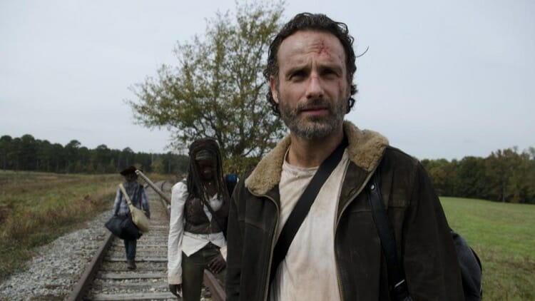 Rick Grimes Taking The Leadership in The Walking Dead