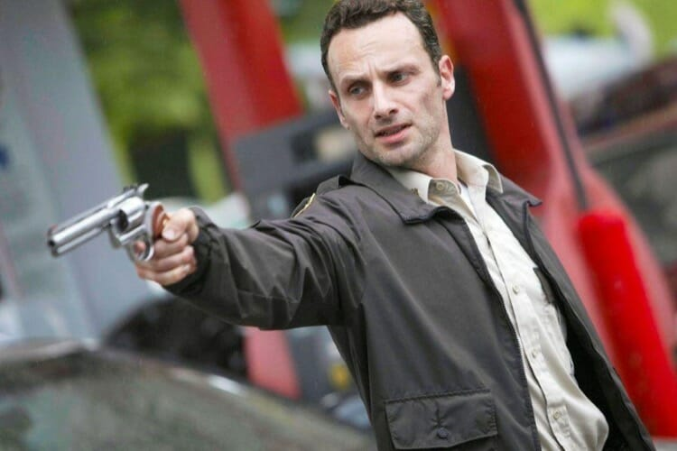 The Walking Dead Rick Grimes Character