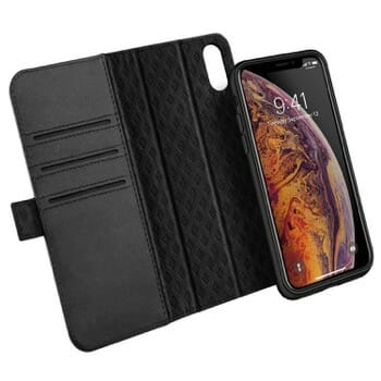 Zover iPhone XS Leather Wallet Case