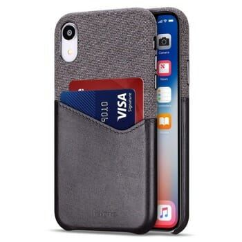 Lopie Slim Card Case For iPhone XR