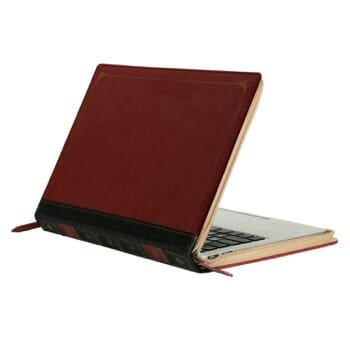MOSISO PU Leather Case cum Sleeve for MacBook Air