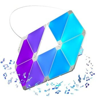 Nanoleaf Aurora Rhythm Lightpanel for Music Fans