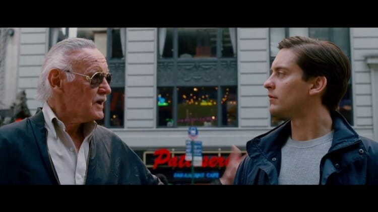 Stan Lee Camio In Spiderman 3