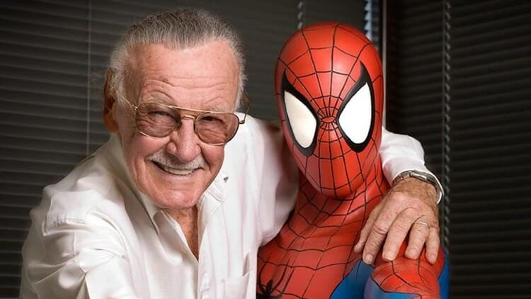 Stan Lee With Spider Man